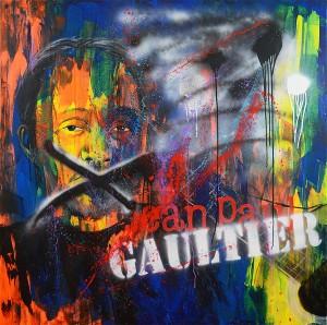 """58"""" x 58"""" Acrylic on canvas"""
